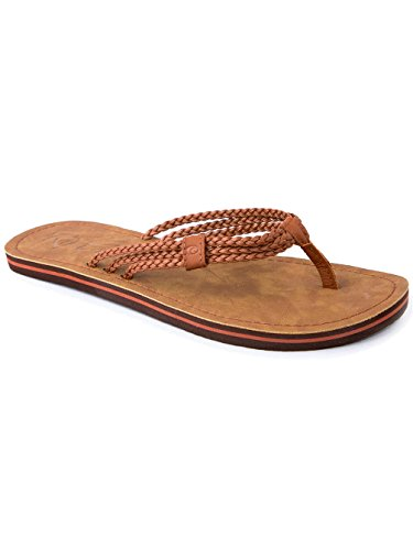 Rip Curl Womens IVY Thong Sandals Dark Brown dLTImUskL
