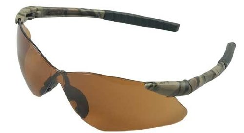 Jackson Safety 20472 V30 Nemesis VL Safety Eyewear, Bronze Polycarbon Anti-Scratch Lenses, Camouflage Frame by Jackson Safety