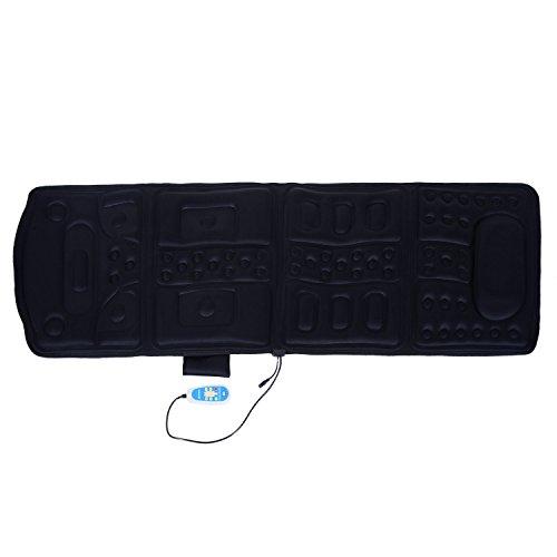 Festnight Heated Vibration Massage Plush Mat (10 Motor Massage Mat)