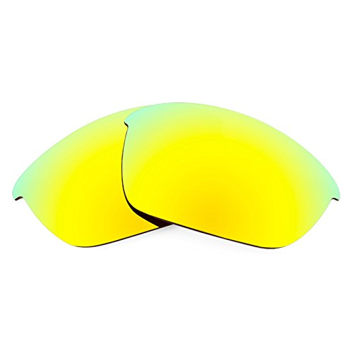Revant Polarized Replacement Lenses for Oakley Half Jacket 2.0 Bolt Gold MirrorShield