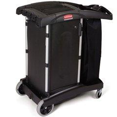 Rubbermaid Commercial Executive Series Canvas Bag, 30-Gallon, Black, ()