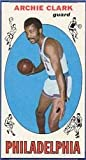 1969 Topps Basketball Rookie Card (1969-70) #32 Archie Clark Very Good