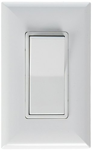 RV Designer S841 Touch Switch ( Self Contained White Contemporary, Speedwire w/Cover-Plate)