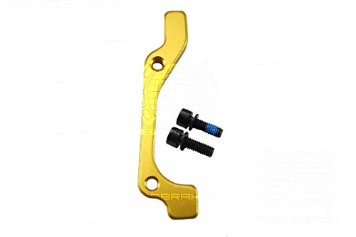 - Rear Post Mount PM to IS Adaptor for 160mm 6 Inch Disc Rotor,Avid Tektro Shimano