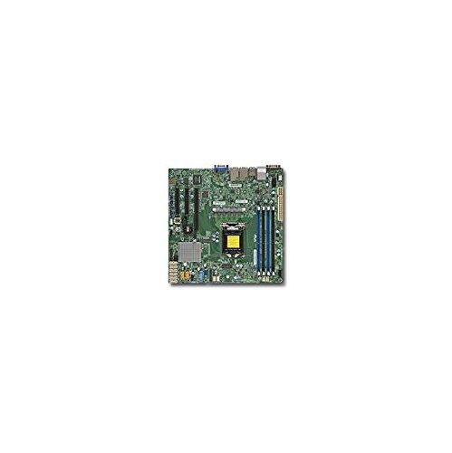 (Supermicro Motherboard MBD-X11SSH-F-B Xeon E3-1200 v5 LGA1151 Socket H4 C236 PCI Express SATA MicroATX Bulk)