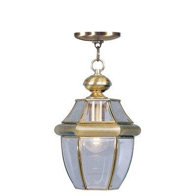 Livex Monterey 2152 Outdoor Hanging Lantern - 8.5W in.
