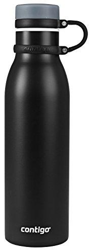 Contigo THERMALOCK Matterhorn Stainless Steel Water Bottle, 20 oz, Matte Black