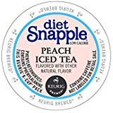 Snapple Diet Peach Iced Tea Kcups 88ct