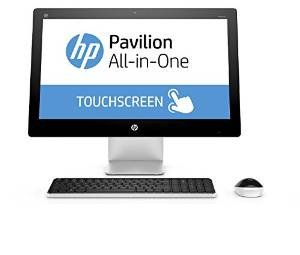 2017 HP Pavilion 23 Inch Touchscreen FHD All-in-One Flagship Preimium Desktop (Intel Quad-Core i7-6700T Quad-Core up to 3.6GHz, 8GB RAM, 1TB HDD, Wifi, DVD, Windows 10 Home) (Certified Refurbished)