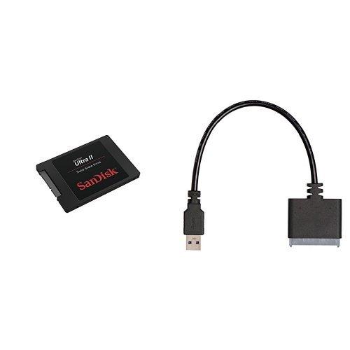 SanDisk - Disco duro sólido interno SSD de 960 GB + Kit de ...