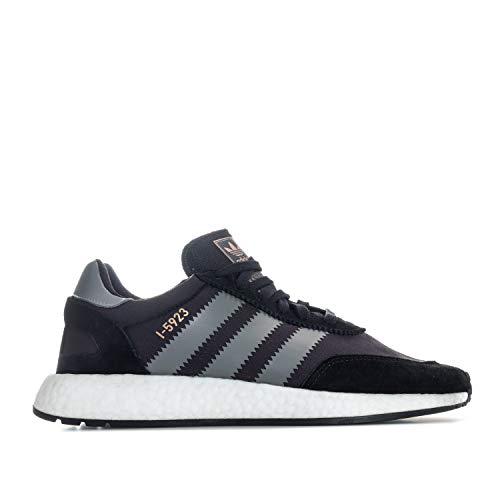 Adidas I-5923 - Zapatillas de Running para Hombre (UK 8 US 8.5 EU 42, Color Negro y Gris B27872)