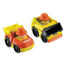 Little People Wheelies 2-Pack - Loader/Dump Truck
