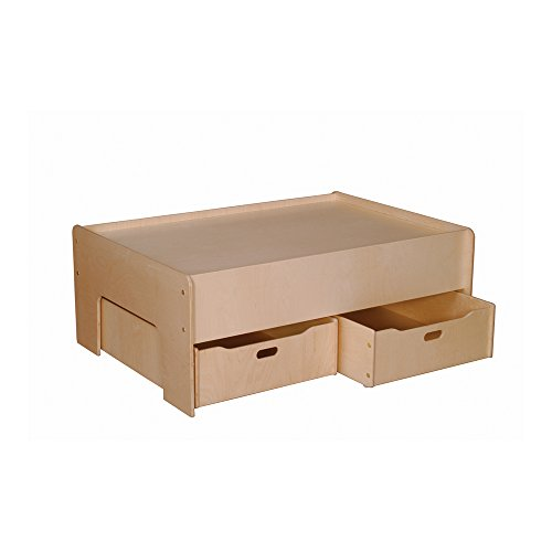 - Little Colorado Kids Storage Drawer Set of 2 Natural Laquer