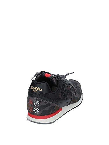 Sneakers T7394 Lotto Blu Shibuya Camou Camo 40 Camo Tokyo qxSYpft