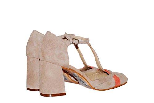 Hohe Pumps Decollete aus Leder Damen RIPA shoes - 50-35302