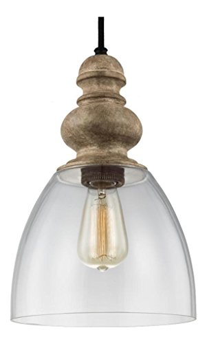 Weathered Zinc Pendant Light in US - 1