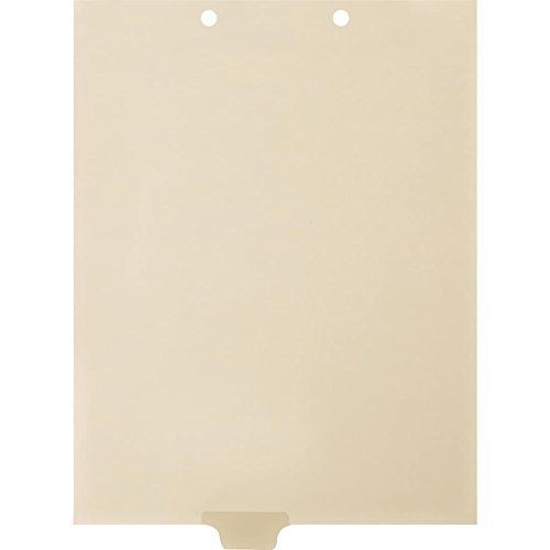 Medical Arts Press Match Write-On End Tab Chart Dividers- Blank, Position 3 (100/Pkg) (56838)