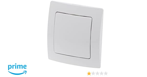 ME ZME_SW6 - Pack París formado por marco y embellecedor de pared para interruptor inalámbrico ZME_WALLC-S, color blanco: Amazon.es: Bricolaje y ...