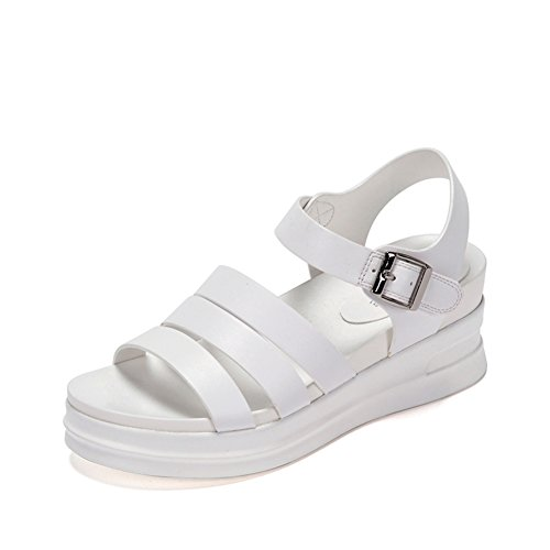End Of Plateauschuhen,Die Koreanische Version Der Open-toe Wedge Sandalen A