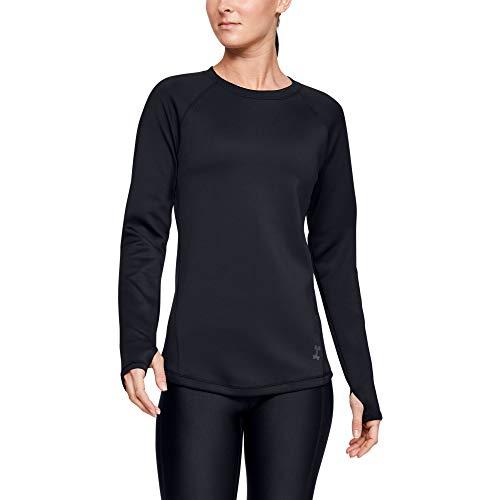 Under Armour Coldgear Armour Long-sleeve Shirt, Black (001)/Tonal, Medium (Cold Gear Shirts Long Sleeve)
