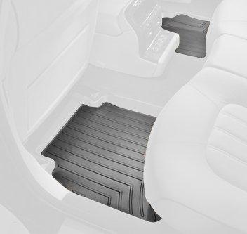 UPC 787765007955, WeatherTech Custom Fit Rear FloorLiner for Hyundai Tucson/Kia Sportage (Black)