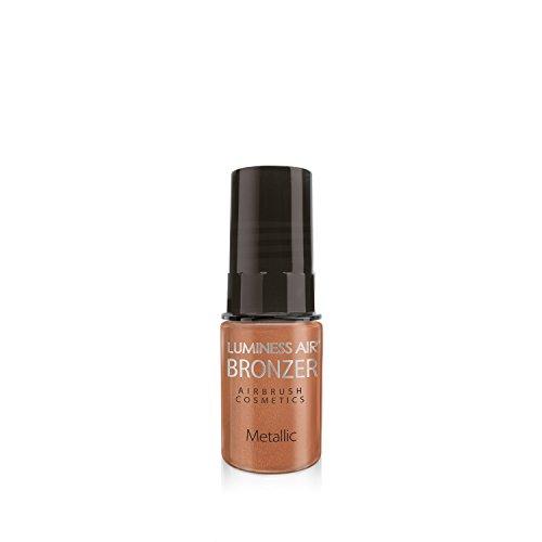 Luminess Air Airbrush Metallics Makeup, Shimmer Bronzer, 0.25 Fluid Ounce
