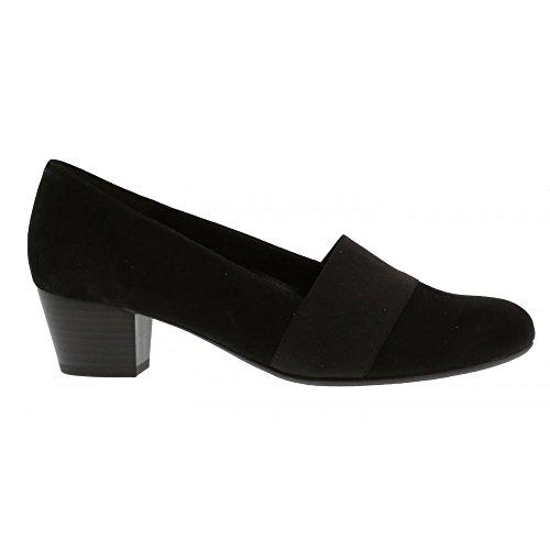 Gabor Shoes Comfort Sport, Bailarinas para Mujer Negro (47 Schwarz)