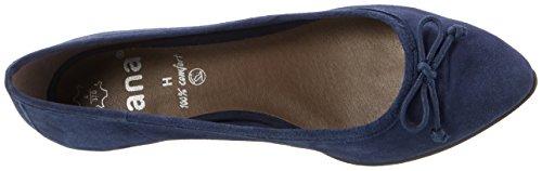 Jana 22202, Zapatos de Tacón para Mujer Azul (Navy 805)