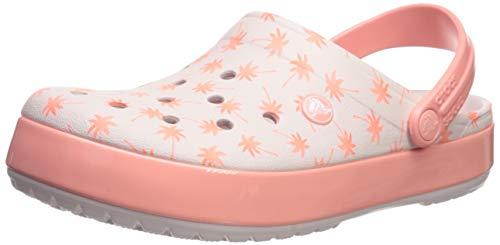 chiaro Melone Croslite Crocs Clog Crocband Graphic Seasonal rosa Funky w0C8nT8zqx