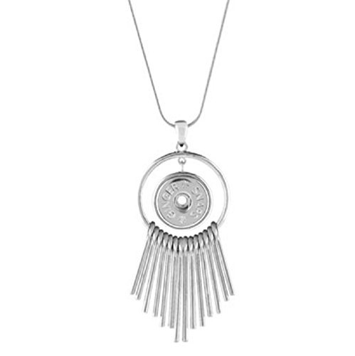 Ginger Snaps Stealth Necklace SN95-37 (Standard Size) Interchangeable Jewelry Accessory
