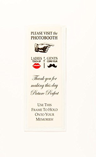 Magnetic Photo Booth Frames for 2'' X 6'' Photo Strips (400) by Photo Booth Frames