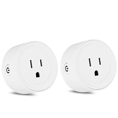 Wifi Smart Plug Mini Socket Outlet Power Switch Works With Amazon Alex Google Home Remote Control By App No Hub Required Time Fuction(2 Packs) by mingjin (Image #7)