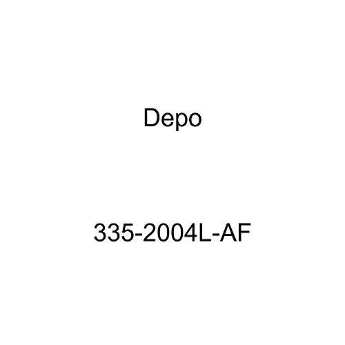 Depo 335-2004L-AF Chevrolet Trailblazer Driver Side Replacement Fog Light Assembly (NSF Certified)