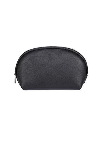 8807766381 MINISO Women s Solid Color Semicircle Portable Zipper Cosmetic Bag ...