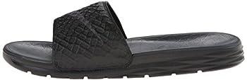 Nike Men's Benassi Solarsoft Slide Sandal, Blackanthracite, 10 D(m) Us 4