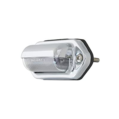 Grand General 81735 White 2-LED License/Utility Sealed Light with Chrome Housing: Automotive