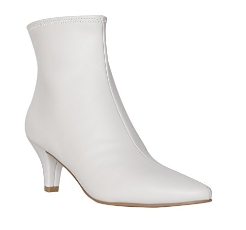 Neil Stretch White Impo Dress Bootie SqwdSPa