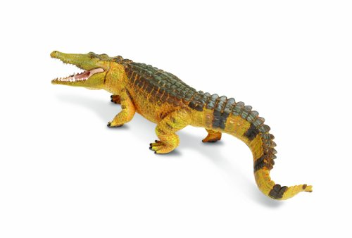 (Safari Ltd Incredible Creatures Saltwater Crocodile Realistic Hand-Painted Toy Figurine Model For Ages 3 And Up  Large)