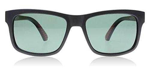 Puma 0010S 001 Matte Black Foundation V1 Wayfarer Sunglasses Polarised Lens - Puma Sunglasses Men For