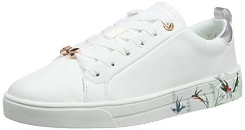 (Ted Baker Women's Roully Trainers White Fortune Whte FR, 8 (41 EU))