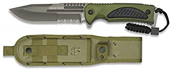 K25-32016 - K25. Cuchillo Aluminio Color Verde. 12.8 ...
