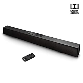 atune analog Sound Bar Dolby Digital Wired Wireless Bluetooth Speaker 5.0 Home Audio Sound Bars for TV Aux RCA Connection Wall Mountable Remote Control 30 in