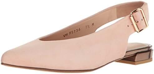 Stuart Weitzman Women's Heidi Pointed Toe Flat