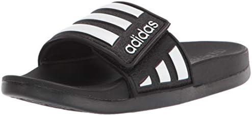 adidas Unisex-Child Adilette Comfort Adj K Slide Sandal
