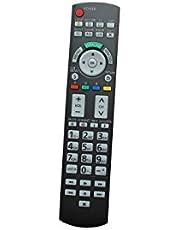 Compatible Remote Control for Panasonic TH-46PZ80U TH-46PZ80UA TH-65PZ750U TH-50PZ750 TH-58PZ750 Plasma LCD LED HDTV Viera TV