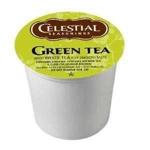 Celestial Seasonings, Green Tea, K-Cup Portion Pack for Keurig K-Cup Brewers (Pack of 48) by Celestial Seasonings