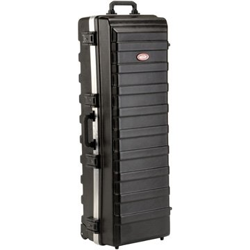 SKB ATA Large Stand Case (48 x 16-1/4 x 13) with Wheels & Straps, TSA Latches, Over-molded Handle from SKB