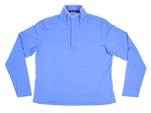 (Ralph Lauren New Womens Polo Golf 1/4 Zip Pullover X-Large XL Blue)