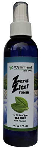 Well In Hand Zero Zitz Toner Tea Tree Astringent -- 6 fl oz