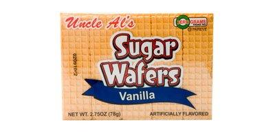- Uncle Al's Vanilla Sugar Wafers - 2.75 oz (Pack of 12)